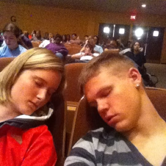 Photo taken at FHU Loyd Auditorium by Brandon M. on 9/21/2011