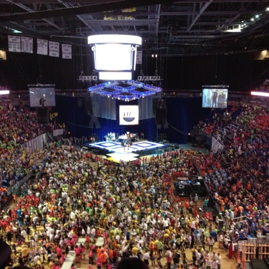Photo taken at Bryce Jordan Center by Krystal K. on 2/18/2012
