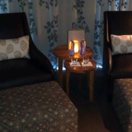 Get the couples treatment room at the isika day spa. It's amazing!