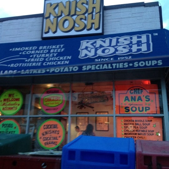 Photo taken at Knish Nosh by dada D. on 5/30/2012