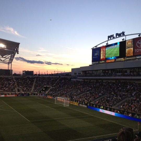 Photo taken at PPL Park by Terry R. on 6/17/2012