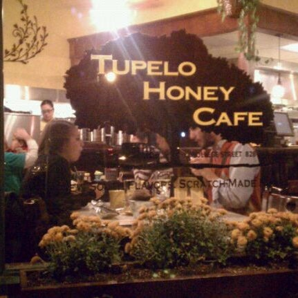 Photo taken at Tupelo Honey Cafe by Jeff T. on 10/24/2011
