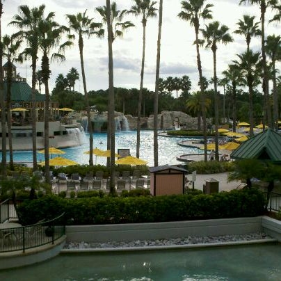 Photo taken at Marriott World Center Pool by S R. on 10/14/2011