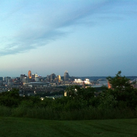 Photo taken at Devou Overlook by Tom B. on 5/25/2012