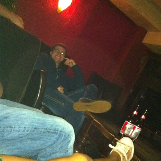 Photo taken at The Blue Monkey Lounge by Zak J. on 11/27/2011