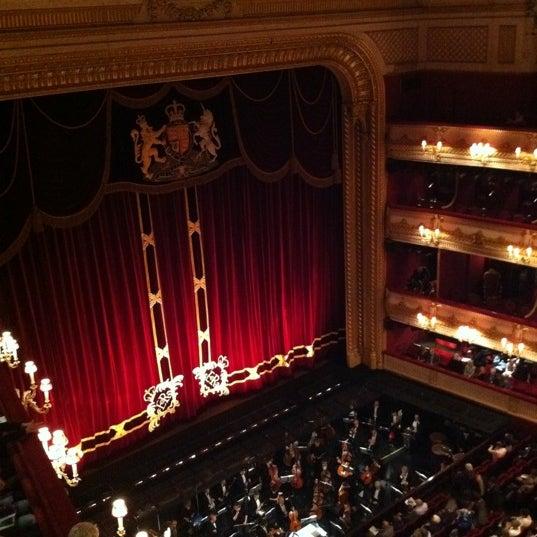 Photo taken at Royal Opera House by Michaela J. on 5/9/2012