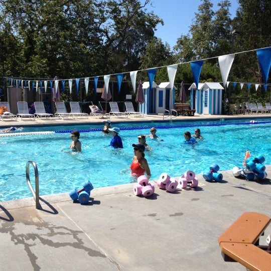 Montecito Ymca Pool In Santa Barbara