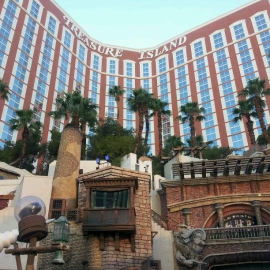 Photo taken at Treasure Island - TI Hotel & Casino by Jennifer J. on 6/29/2012