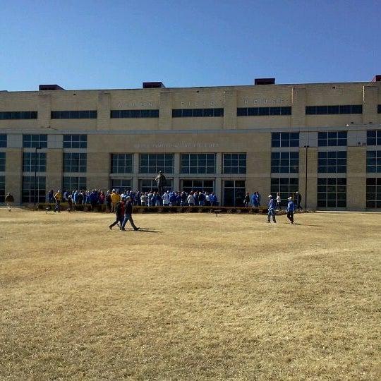 Photo taken at Allen Fieldhouse by Dan K. on 2/25/2012