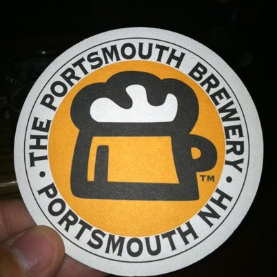 Photo taken at Portsmouth Brewery by Davin H. on 8/3/2012