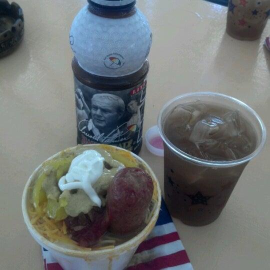 Photo taken at Hotdog Tommy's by Linda T. on 6/30/2012