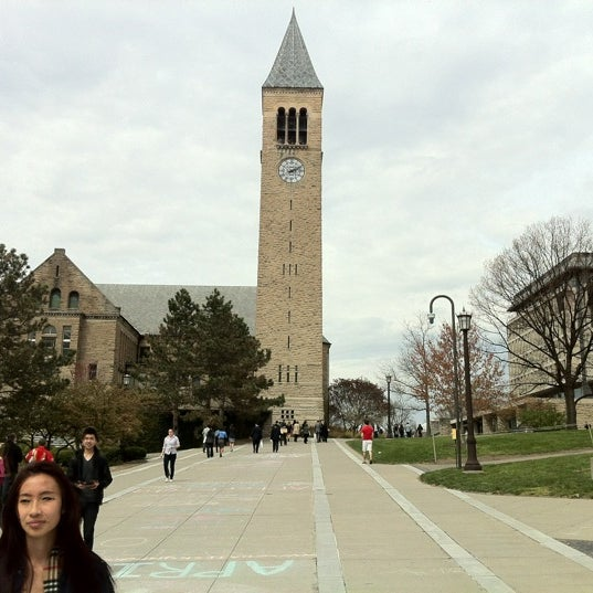 Photo taken at Cornell University by Johnson C. on 4/14/2012