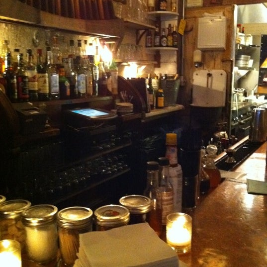 Photo taken at Vinegar Hill House by Nina Y. on 7/3/2011
