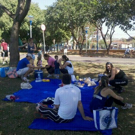 Photo taken at Parque Ecológico Maurilio Biagi by Cinthia V. on 9/1/2012