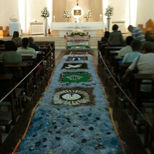Photo taken at Paróquia Santa Mônica by Wanda L. on 6/7/2012