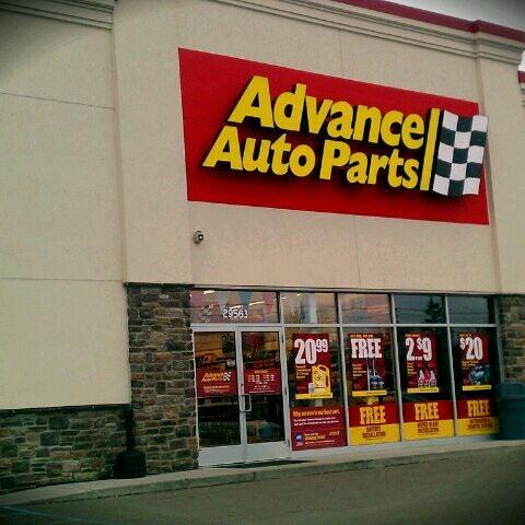 Advance Auto Parts Farmington Farmington Hills Mi