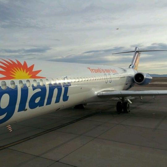 Photo taken at Phoenix-Mesa Gateway Airport (AZA) by Michele H. on 1/21/2012