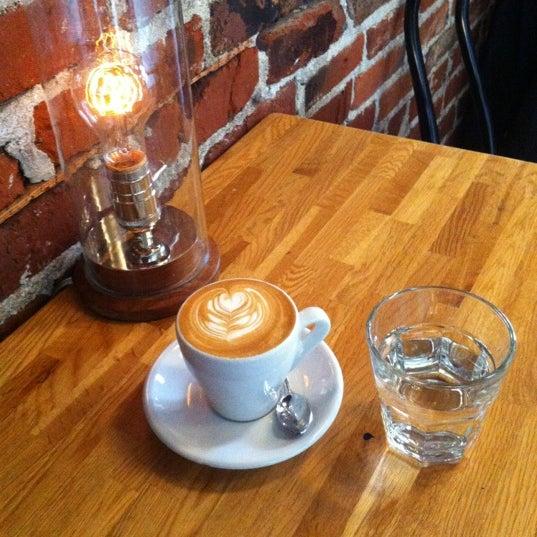 Photo taken at Coffeehouse Northwest by Jeff U. on 4/19/2012