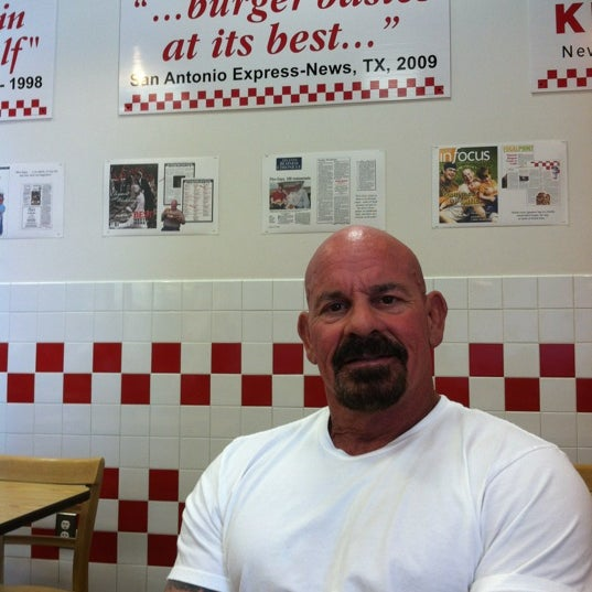 Photo taken at Five Guys by Nina S. on 8/3/2012