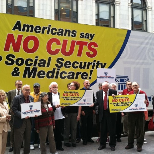 Photo taken at National Committee to Preserve Social Security and Medicare by @NCPSSM on 9/22/2011