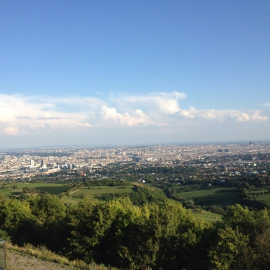 Photo taken at Kahlenberg by Christoph P. on 7/8/2012