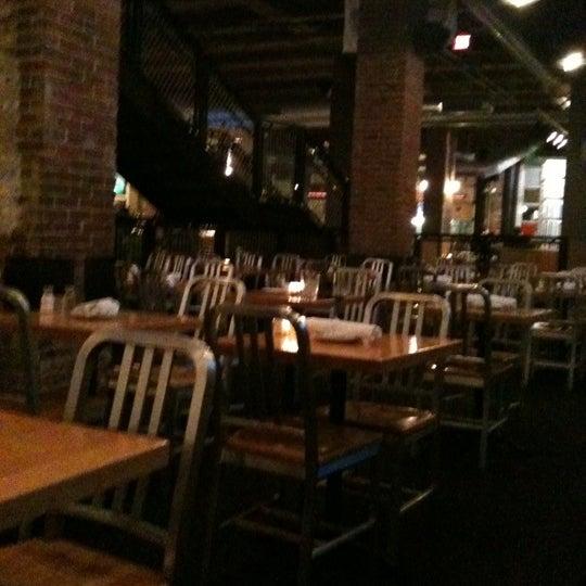 Photo taken at Boston Beer Works by Sarah T. on 1/24/2011