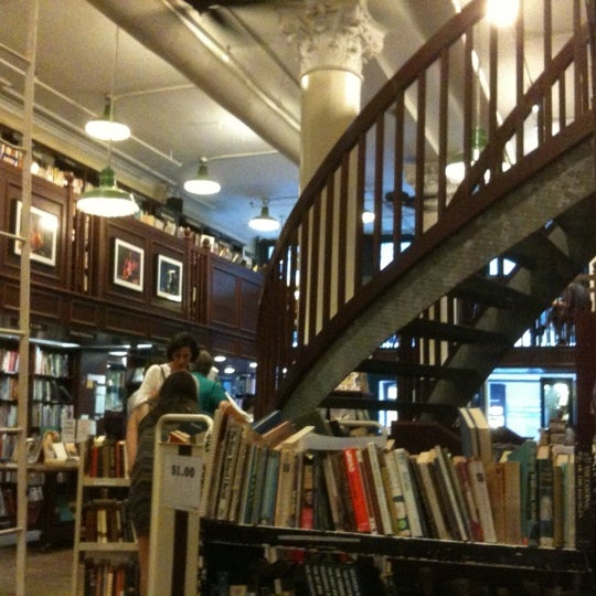 Photo taken at Housing Works Bookstore Cafe by Michael H. on 7/1/2011