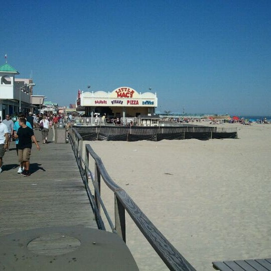 Photo taken at Point Pleasant Beach Boardwalk by Martin D. on 10/9/2011