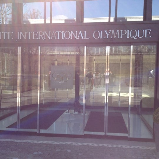 Photo taken at International Olympic Committee by Mark S. on 3/23/2012