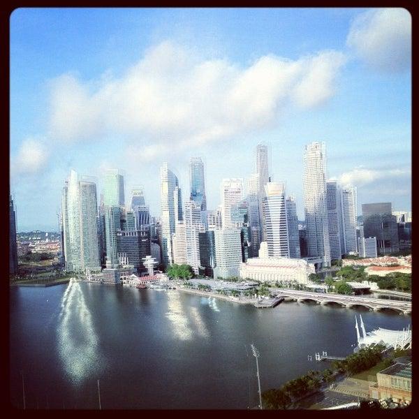 Photo taken at The Ritz-Carlton Millenia Singapore by Mike D. on 4/18/2012