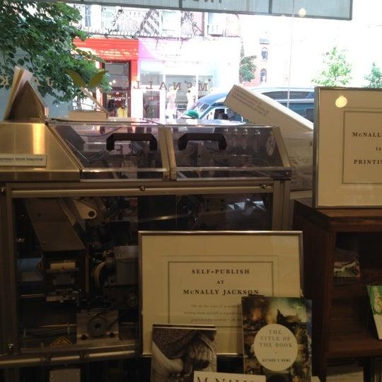 Photo taken at McNally Jackson Books by Tara H. on 7/3/2012