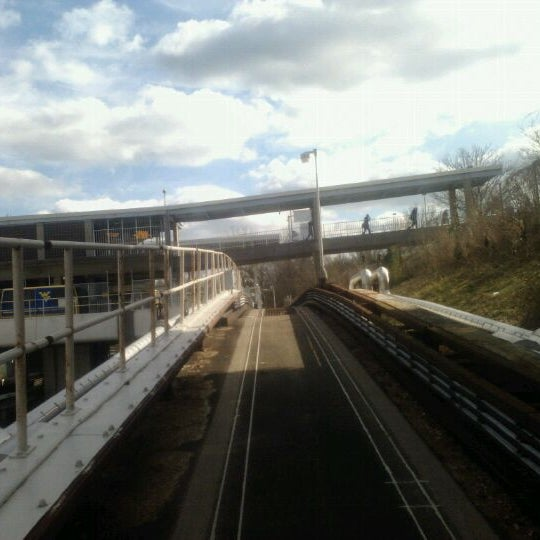 Photo taken at Engineering PRT Station by Andrea Peachy G. on 1/24/2012