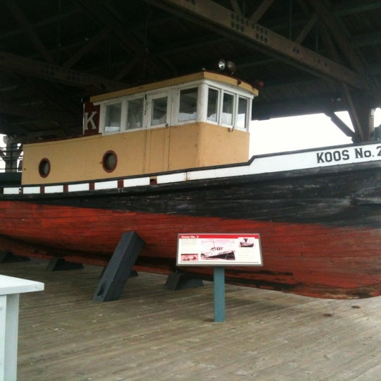 Photo taken at Coos Bay Boardwalk by Zeke S. on 4/7/2012