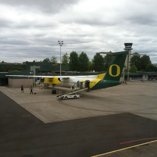 Photo taken at Eugene Airport (EUG) by Kim V. on 7/25/2011
