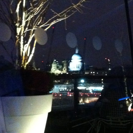 Photo taken at OXO Tower Brasserie by Hillary B. on 3/4/2012