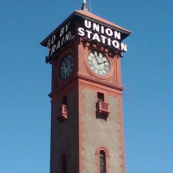 Photo taken at Union Station Amtrak (PDX) by Keith W. on 9/6/2011