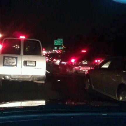 Photo taken at Garden State Parkway -- Saddlebrook by yoanna Z. on 1/12/2012