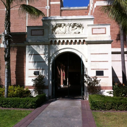 Photo taken at Doheny Memorial Library (DML) by Asbed B. on 3/14/2012