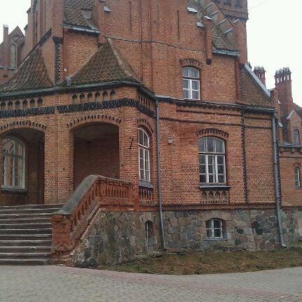 Photo taken at Jaunmoku pils by Leons S. on 3/17/2012