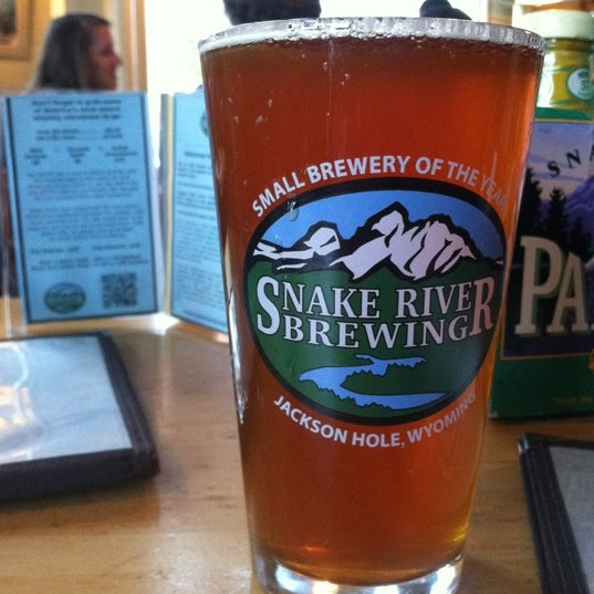 Photo taken at Snake River Brewery & Restaurant by Jay W. on 5/15/2012