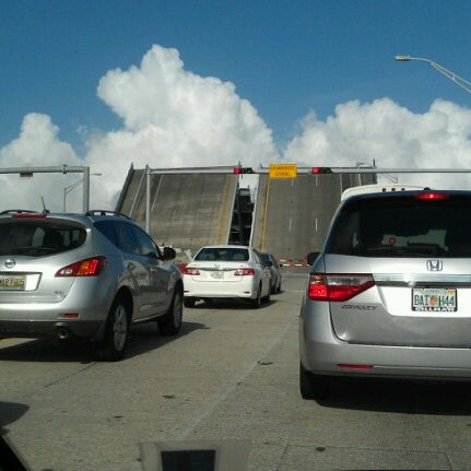 Photo taken at Waiting For The Hallandale Bridge by Angelo F. on 8/29/2012