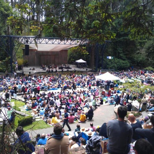 Photo taken at Sigmund Stern Grove by Matthew G. on 7/15/2012
