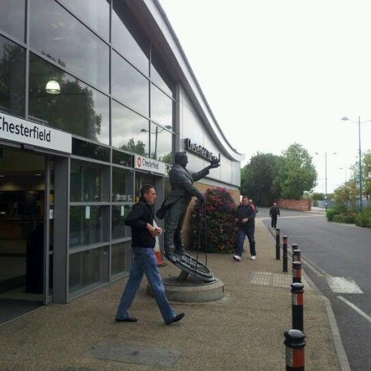 Chesterfield Station Car Park