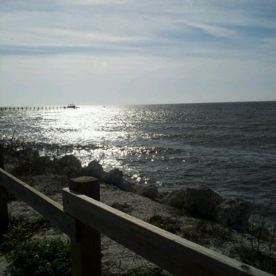 Photo taken at Apollo Beach by Maggie L. on 3/3/2012