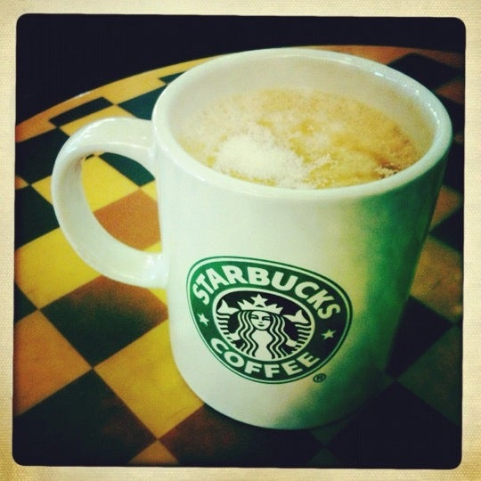 Photo taken at Starbucks by Анна Г. on 4/16/2012