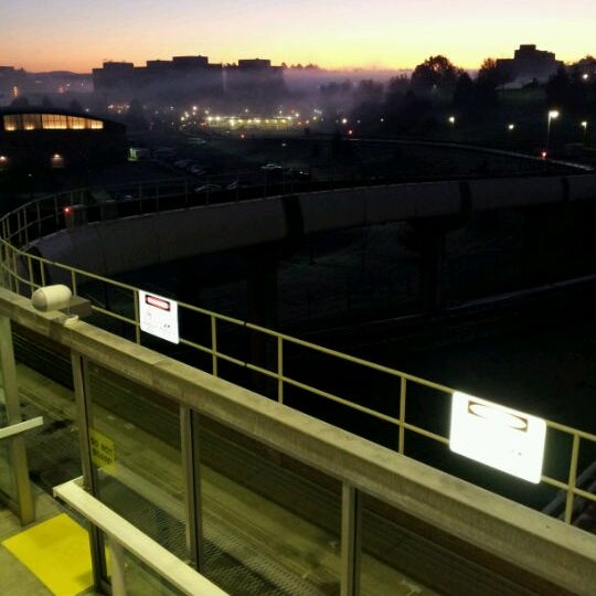 Photo taken at Engineering PRT Station by David R. on 11/2/2011