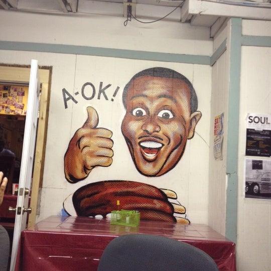 Photo taken at Sam's Bar-B-Que by Adam Duritz on 3/17/2012