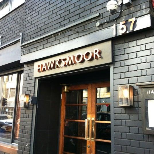 Photo taken at Hawksmoor by Wilkes M. on 3/30/2012