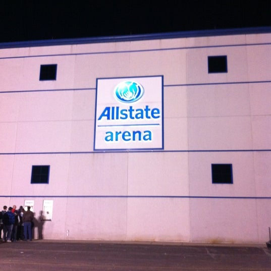Photo taken at Allstate Arena by Michael B. on 2/19/2012