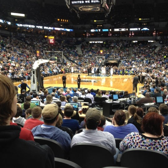 Photo taken at Target Center by Casey C. on 3/25/2012